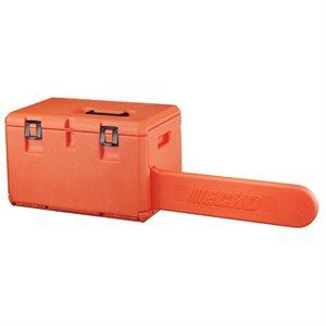 Coffre de scie Echo orange