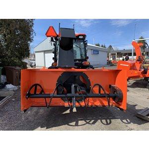 Souffleuse WB78 78'' orange rotation et clapet hydraulique